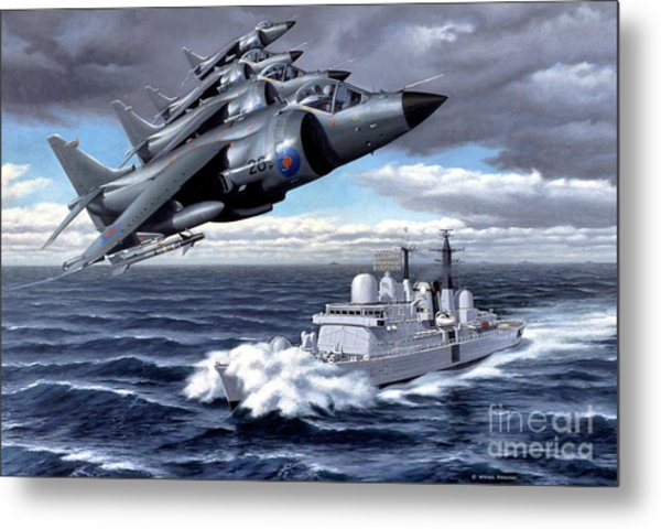 Tribute To Valour Metal Print by Michael Swanson