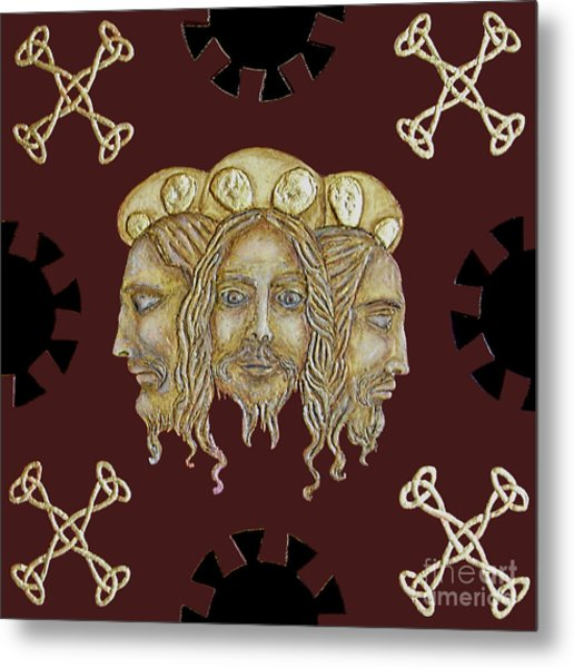 Trinity Metal Print by Anna Maria Guarnieri