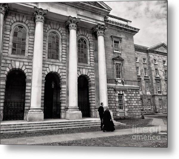 Metal Print featuring the photograph Trinity College Examination Hall by Menega Sabidussi
