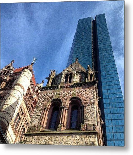 #trinitychurch #boston #bostonusa Metal Print