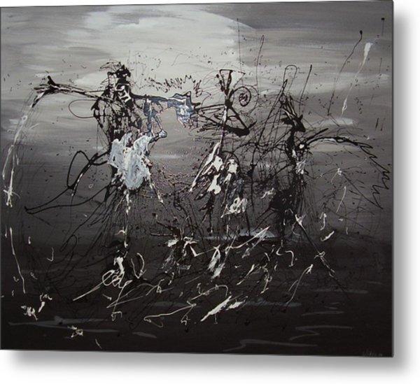 Trio Metal Print by Waldemar  Van Wyk