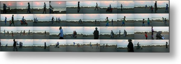 Tripoli Sunset Metal Print