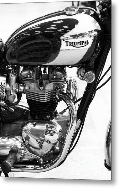 Triumph Bonneville Metal Print