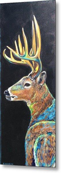 Trophy Buck Metal Print
