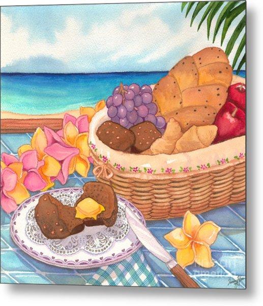 Tropical Breakfast Metal Print by Tammy Yee