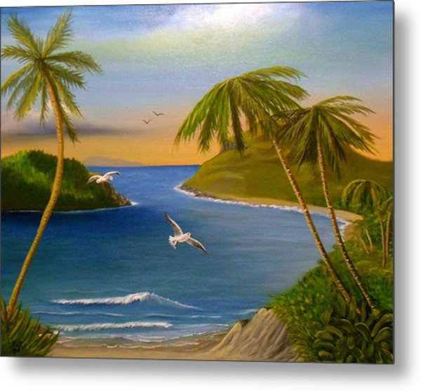 Tropical Escape Metal Print