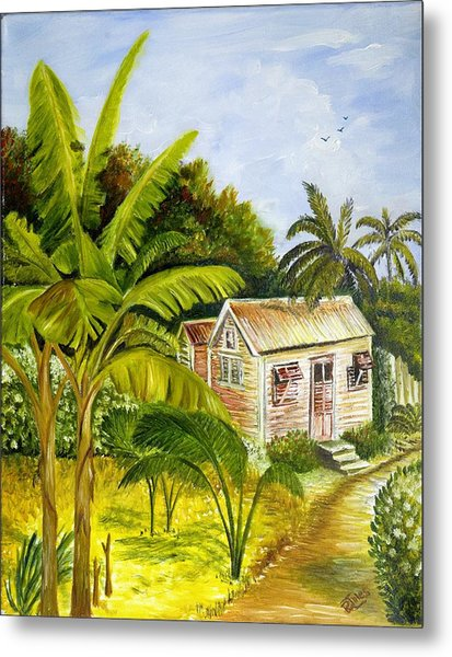 Tropical Haven Metal Print