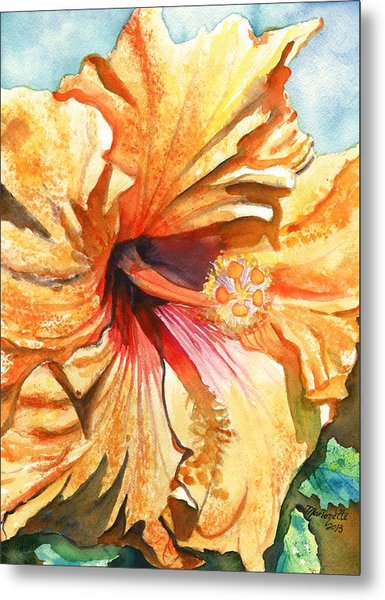 Tropical Hibiscus 3 Metal Print