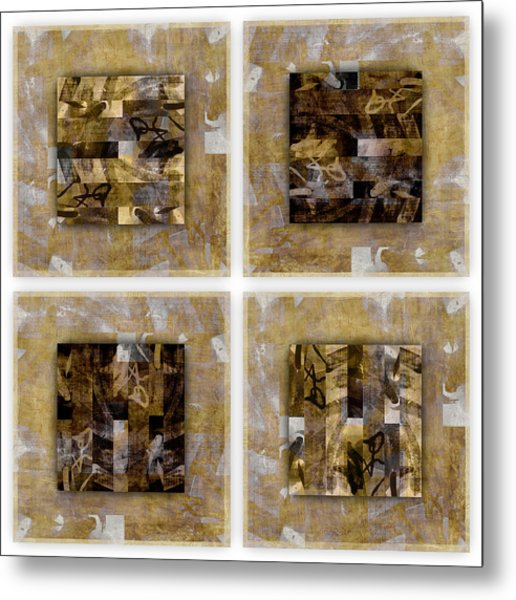 Tropical Panel Four Up Metal Print
