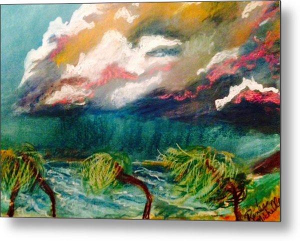 Tropical Storm Metal Print