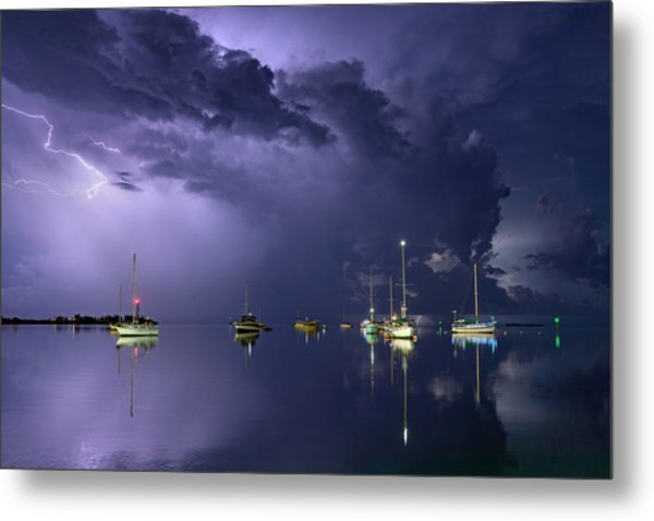 Tropical Storm1 Metal Print