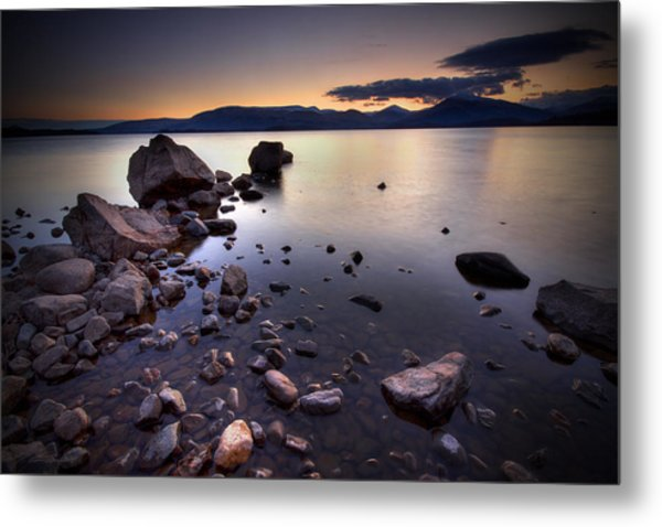 Trossachs Loch Lomond Metal Print