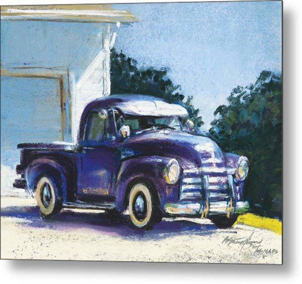 Truck Metal Print by Beverly Amundson