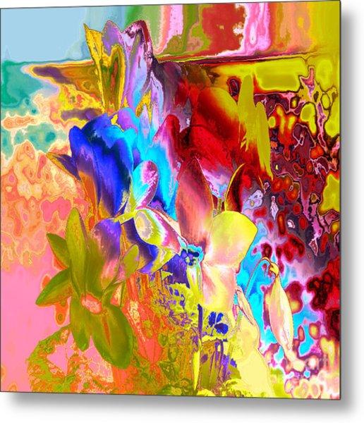 True Colours Metal Print by Soumya Bouchachi