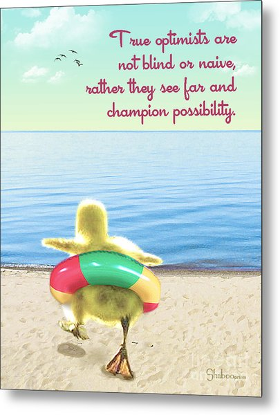 True Optimists Metal Print