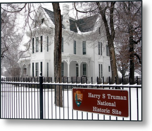 Truman Home Winter 2007 Metal Print