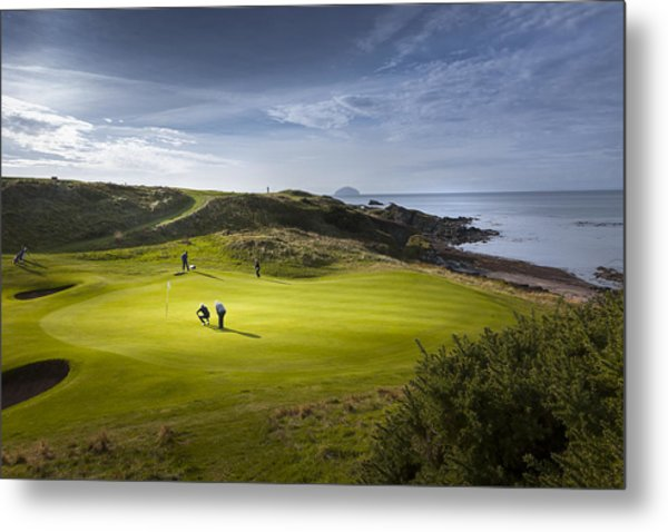 Turnberry Seascape Golf Course Metal Print