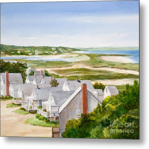 Truro Summer Cottages Metal Print