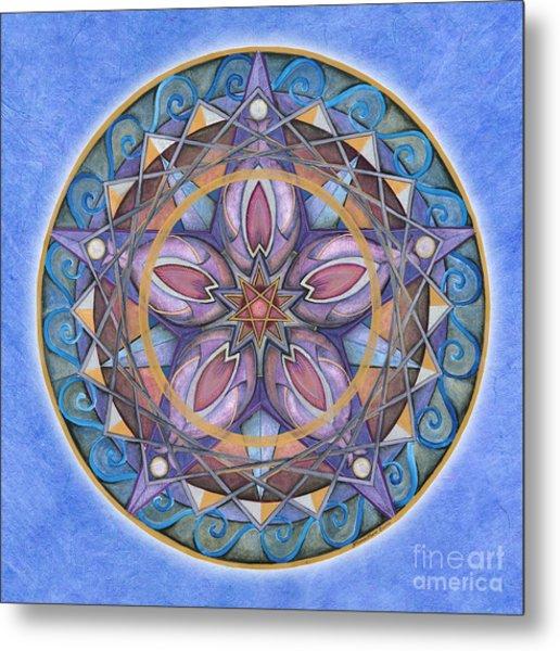 Truth Mandala Metal Print