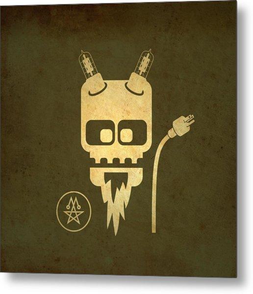 Tube Devil Metal Print