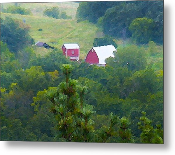 Tucked Away Metal Print