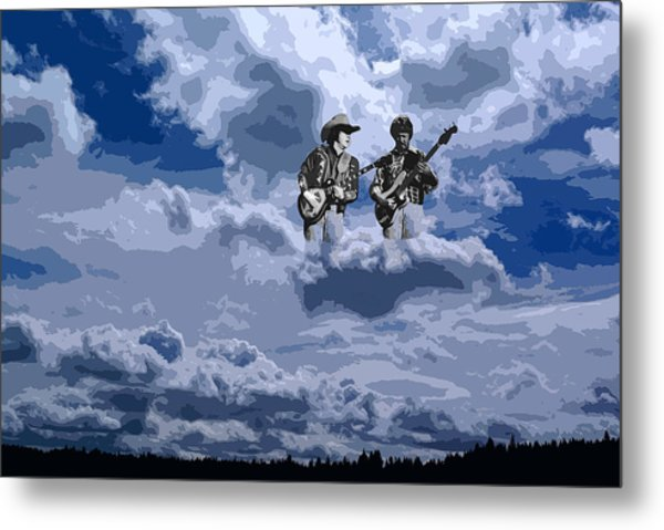 Tucker Boys In The Clouds 2 Metal Print