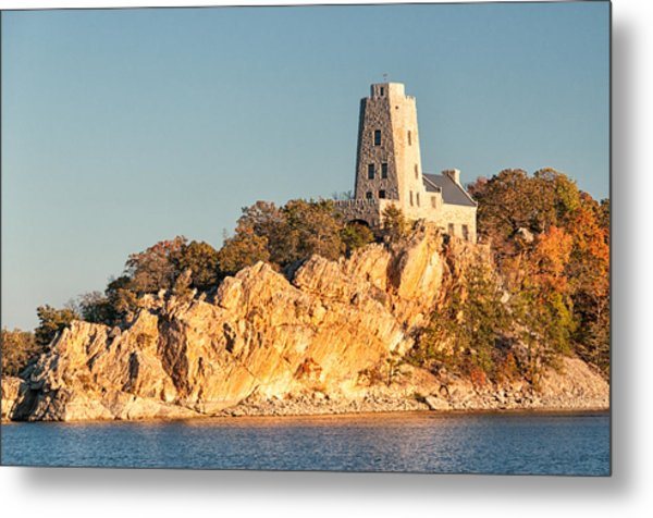Tucker Tower Metal Print