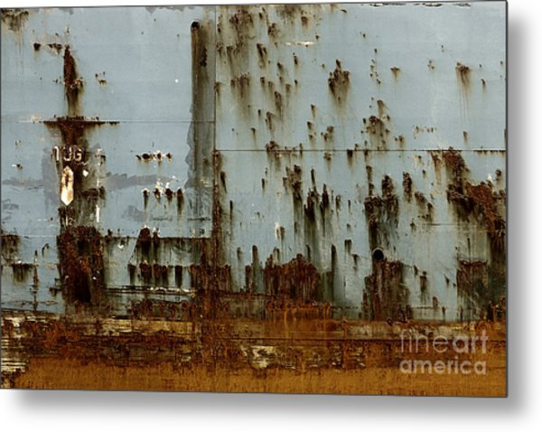 Tug- A Fisherman's Impression Metal Print