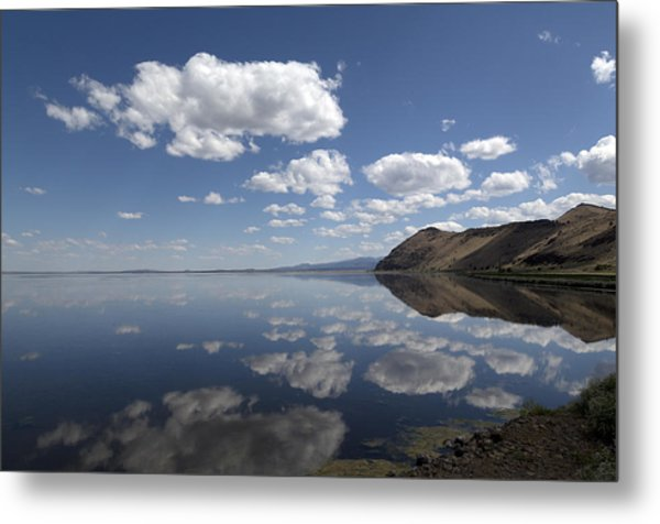 Tule Lake In Northern California Metal Print
