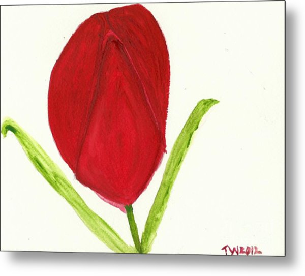 Tulip Of The Heart Metal Print
