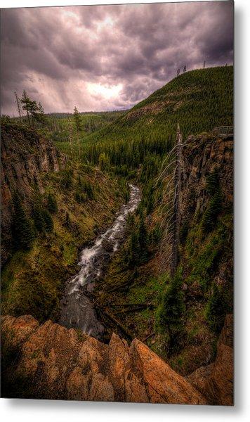 Metal Print featuring the photograph Tumalo Creek by Matt Hanson
