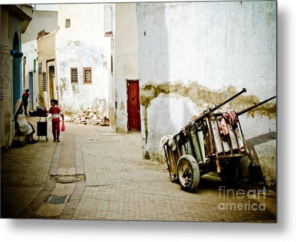 Tunisian Girl Metal Print