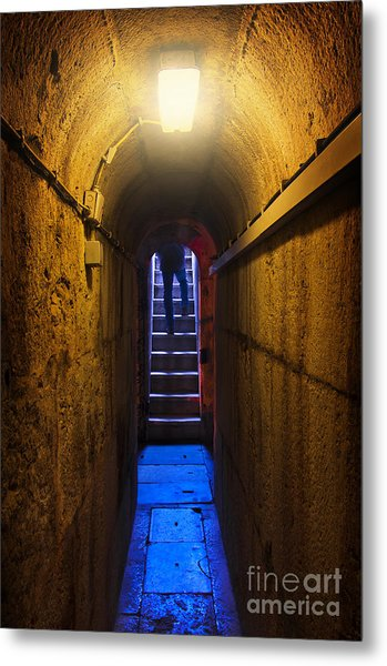 Tunnel Exit Metal Print