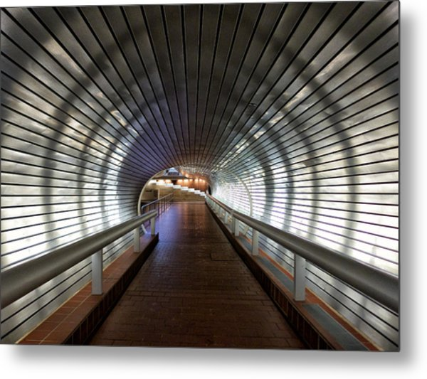 Tunneling In New Haven Metal Print