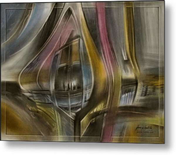 Tunnelscape 2010 Metal Print