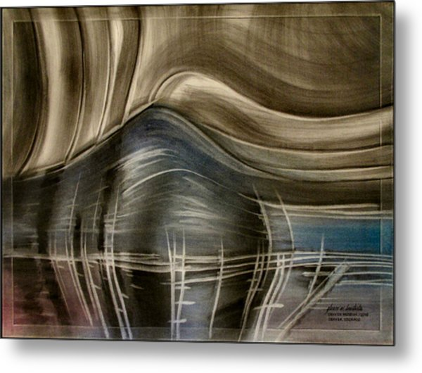 Tunnelscapeb 2010 Metal Print