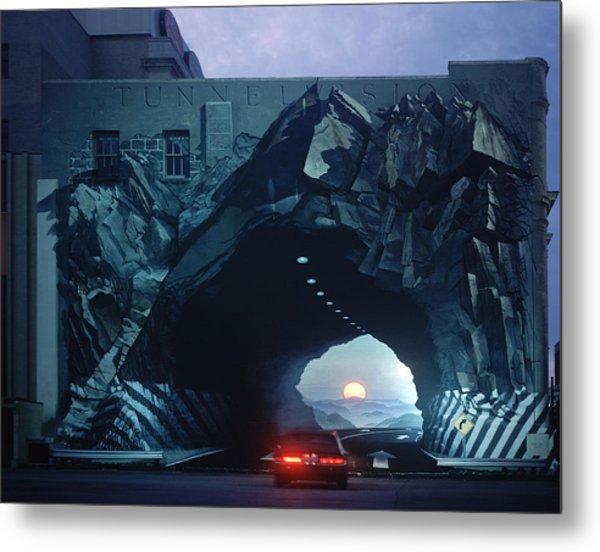 Tunnelvision Metal Print