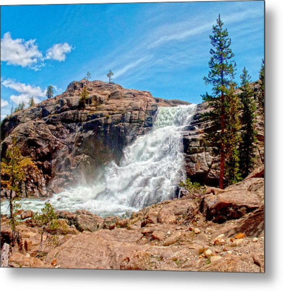 Tuolumne Fall  Metal Print