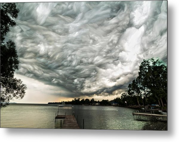 Turbulent Airflow Metal Print