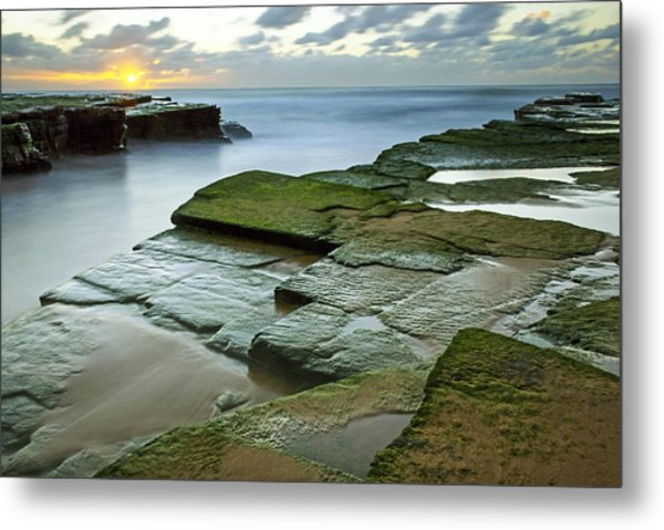 Turimetta Beach Sunrise Metal Print