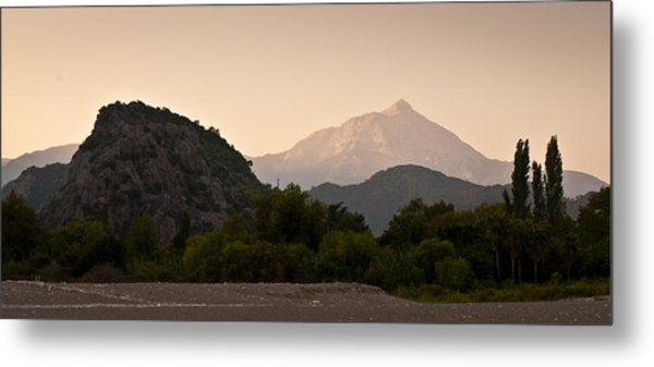 Turkish Mountains Metal Print