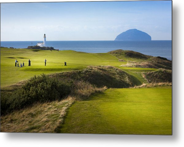 Turnberry Golf Course Prints Metal Print