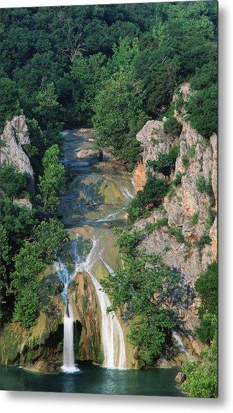 Turner Falls, Arbuckle Mountains Metal Print by John Elk