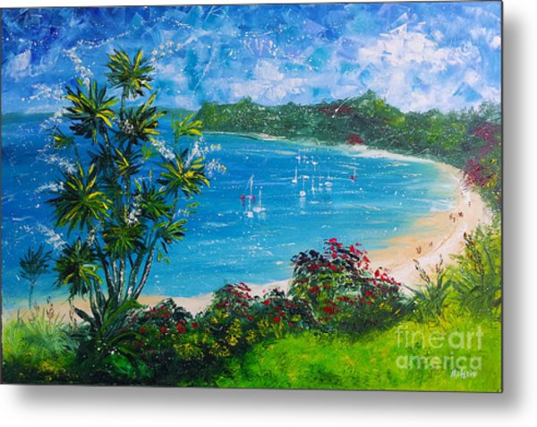Turquoise Bay On A Sunny Day Metal Print