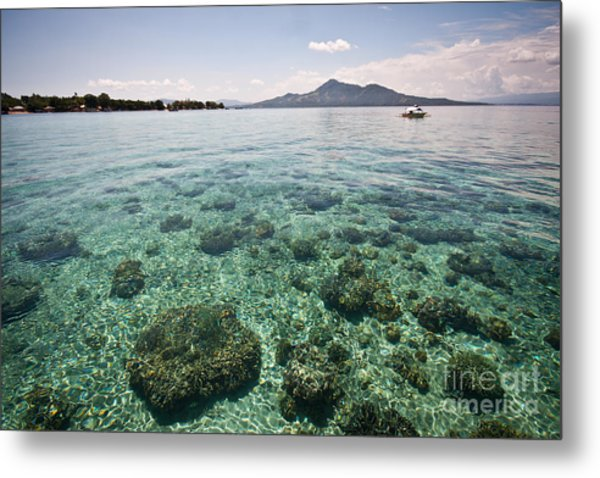 Turquoise Paradise Metal Print by Asiadreamphoto