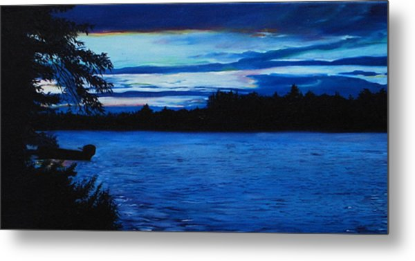 Turtle Lake Metal Print