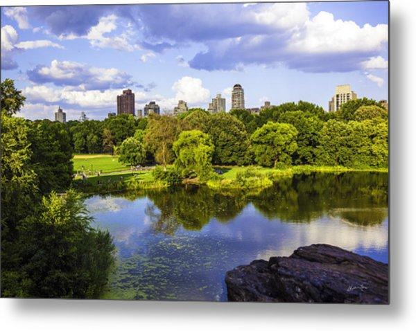 Vista Rock View 2  - Central Park - Manhattan Metal Print