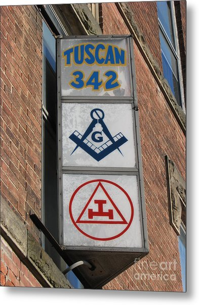 Tuscan 342 Metal Print