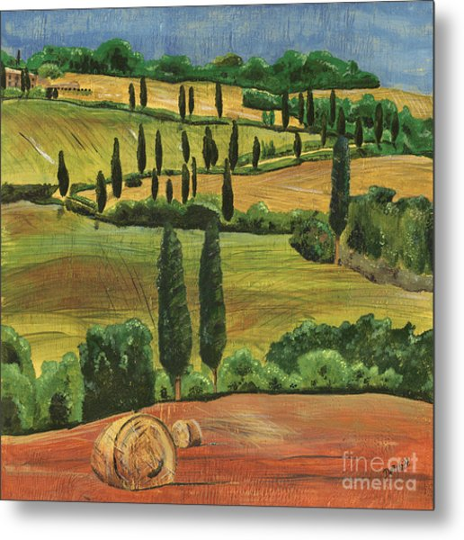 Tuscan Dream 1 Metal Print