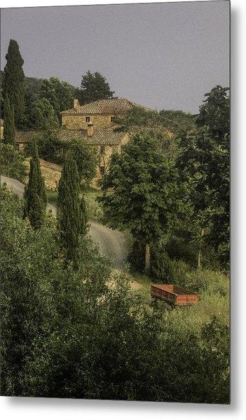 Tuscan Estate Metal Print